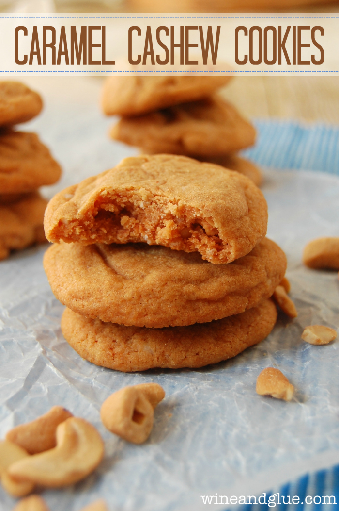 passion fruit caramel sauce cashew butter cookies cashew cookies with ...