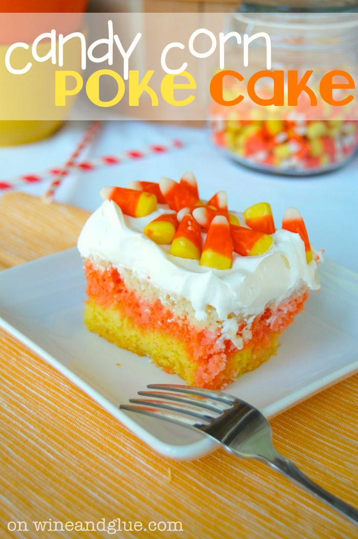 Halloween Candy Corn CAKE